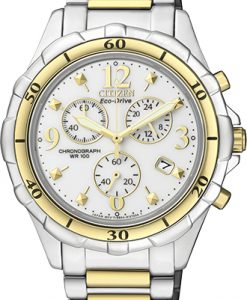 Citizen Ladies Eco-Drive Stainless Steel Watch FB1354-57A